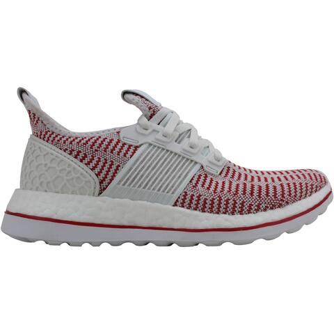 Adidas Pureboost ZG LTD Crystal White/Vivid Red AQ2926 Men's