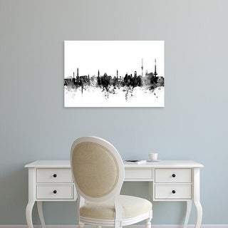 Easy Art Prints Michael Tompsett's 'Stuttgart Germany Skyline' Premium Canvas Art