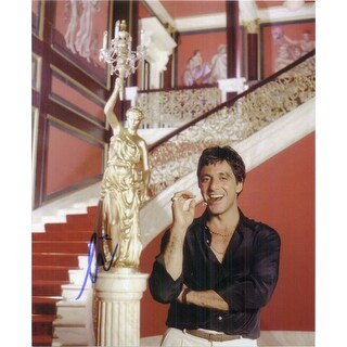 Signed Pacino Al Scarface 8x10 Photo autographed