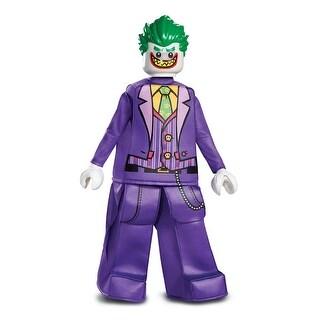 Boys LEGO Batman Joker Prestige Halloween Costume - small (size 4-6)
