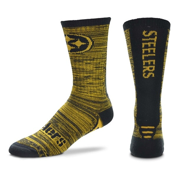 new styles 69932 a9037 Shop Pittsburgh Steelers Jump Jolt Socks, Large (Men s 10-13) - Free  Shipping On Orders Over  45 - Overstock - 28355534