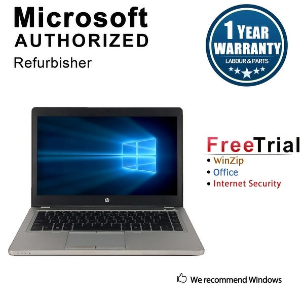 "Refurbished HP EliteBook Folio 9480M 14.0"" Intel Core i7-4600U 2.10GHz 8GB DDR3 1 TB Win 10 Pro 64 Bits 1 Year Warranty"