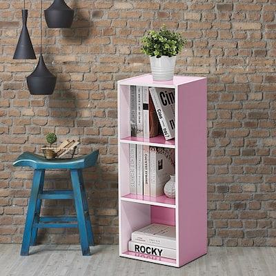 Porch & Den Hollygrove 3-tier Open Shelf Bookcase