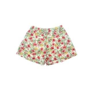 Denim & Supply Ralph Lauren Womens Casual Shorts Floral Print Pull On - M