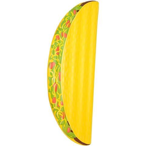 Inflatable 6.5 ft. Taco Pool Float - Multi