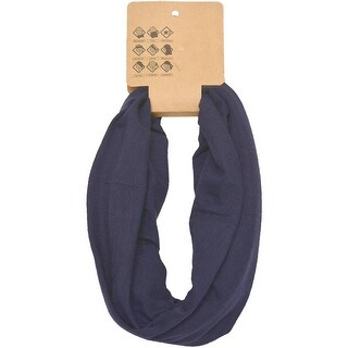 Head Gear Womens Navy Solid Color Headband Trendy Hair Accessory