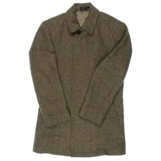 Lauren Ralph Lauren Mens Coat Wool Herringbone