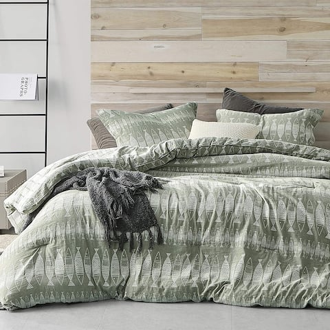 Village Pisces Oversized Comforter - 100% Yarn Dyed Cotton
