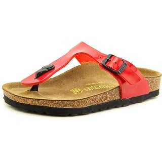 Birkenstock Gizeh Youth N Open Toe Synthetic Red Thong Sandal
