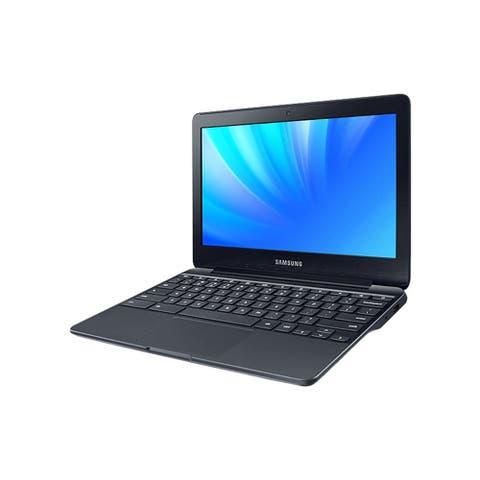Samsung Chromebook 500c 11.6-in Refurbished Laptop - Intel Celeron N3050 1.60 GHz 4GB 16GB eMMC Chrome OS - Bluetooth, Webcam