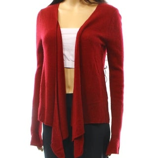 Philosophy NEW Red Women's Size Small S Cardigan Cashmere Sweater