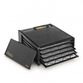 Excalibur 2500ECB Black Non Timer 5 Tray Dehydrator