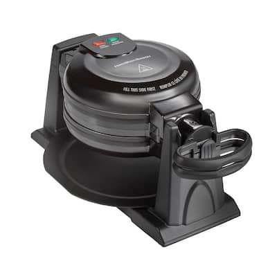 Hamilton Beach Double Rotating Belgian Waffle Maker with Removable Nonstick Plates