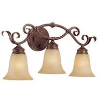 Millennium Lighting 7053 Roanoke 3-Light Bathroom Vanity Light - n/a
