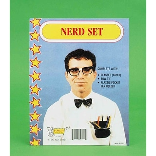 Class Nerd Adult Costume Kit