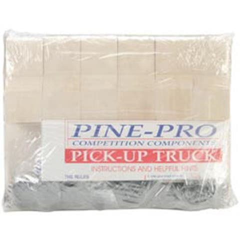 Pickup Truck - Pine Car Derby Kits Bulk Pack
