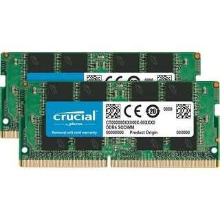 Crucial Ct2k8g4sfs824a 260-Pin Memory 16Gb Kit (8Gbx2) Ddr4 2400 Mt/S