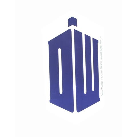 Doctor Who Sticker: Doctor Who Logo - multi