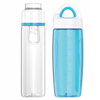 Thermos 24 oz. Sport Bottle w/ Covered Straw / 24 oz. Infuser Hydration Bottle