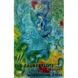 The Magic Flute Die Zauberflote 1973 Exhibition Poster Marc Chagall Overstock 12428005