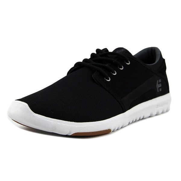 Etnies Scout Men Black/Charcoal/Gum Skateboarding Shoes