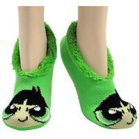 Powerpuff Girls Buttercup Slip-on Slipper Socks