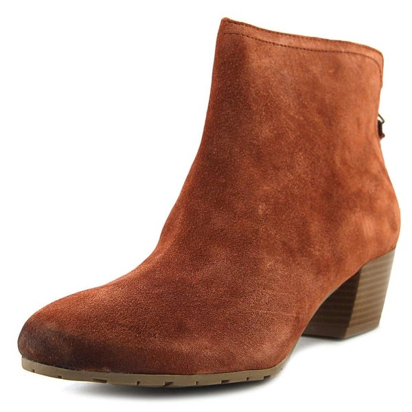 Kenneth Cole Reaction Pil-Age Women Round Toe Suede Ankle Boot