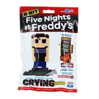 Five Nights at Freddy's 8-Bit Buildable Figure: Crying Child - Multi