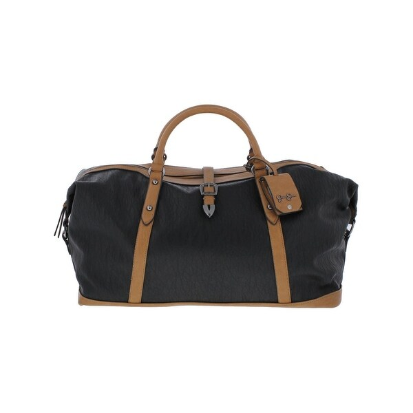 1938d5822540 Jessica Simpson Womens Sierra Weekender Bag Faux Leather Overnight