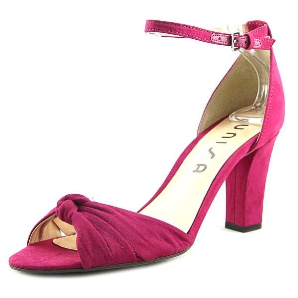 Unisa Dian Women Open Toe Canvas Pink Sandals