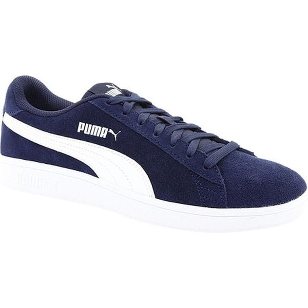 Shop PUMA Smash V2 Sneaker Peacoat PUMA White - Free Shipping Today ... c480412e7