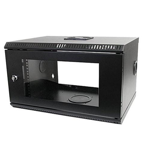Startech - Rk619walloh 6U Hinged Wallmount Open Framencabinet Server Rack