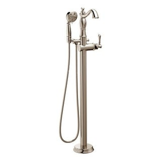 Great Delta T4797 FL LHP Cassidy Floor Mounted Tub Filler With Personal Hand  Shower Less