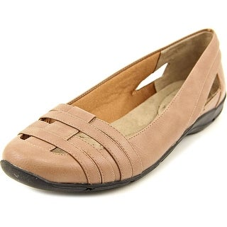 Life Stride Darcine Women N/S Round Toe Synthetic Bronze Flats