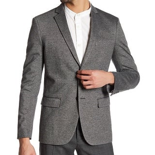 Theory NEW Gray Walck Mens Size 40 Rodolf Two Button Sport Coat Jacket