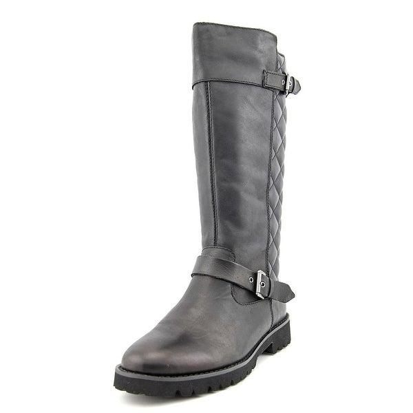 Easy Spirit Bronzato  W Round Toe Leather  Mid Calf Boot