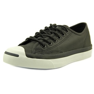 Converse JP Jack Ox Youth Round Toe Canvas Black Sneakers