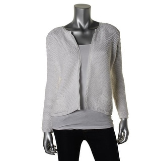 Zara Knit Womens Knit Open Front Cardigan Sweater