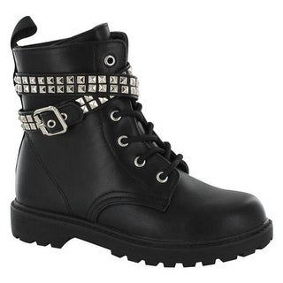 Gotta Flurt Girls' Lani G Boot Black Pu