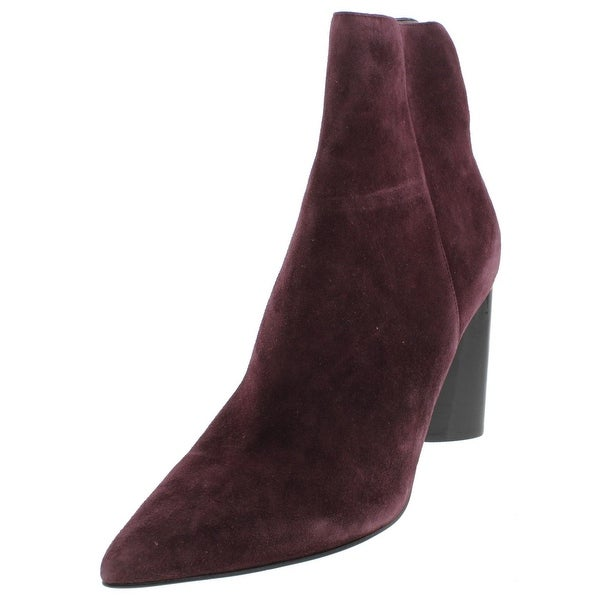 Kendall + Kylie Womens Gemma Ankle Boots Suede Pointed Toe - 7 medium (b,m)