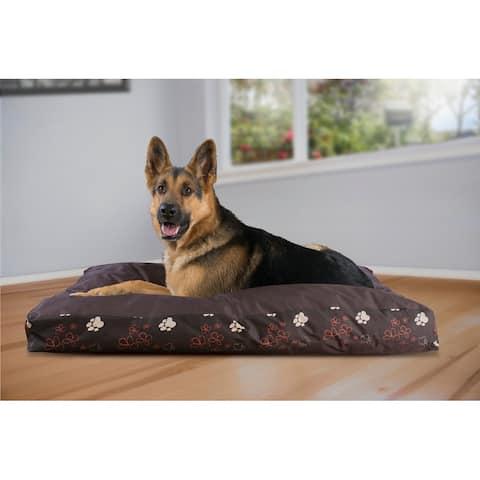 FurHaven Pet Bed Indoor/Outdoor Garden Deluxe Pillow Mattress Dog Bed