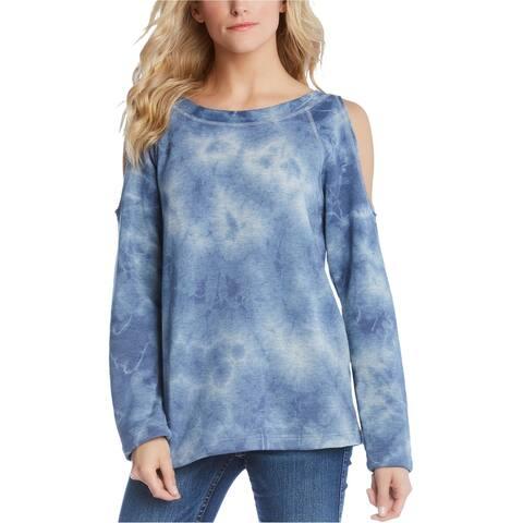 Karen Kane Womens Cold Shoulder Pullover Sweater