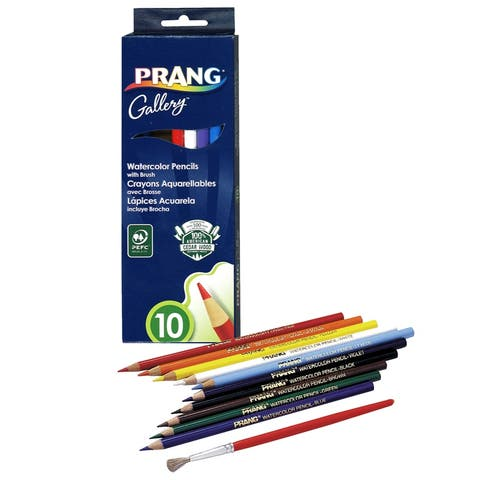 Prang prang watercolor pencils 10 colors 23650