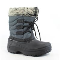 Tundra Womens Dot Gray Snow Boots Size 6