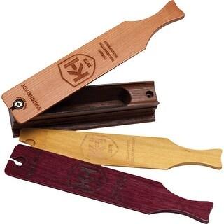 Knight & hale kht2002 knight & hale turkey call box switchblade 3-in-1 w/3 lids!