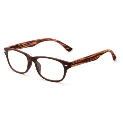Readers.com The Hero Retro Square Reading Glasses