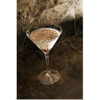 """Chocolate martini"" Poster Print"