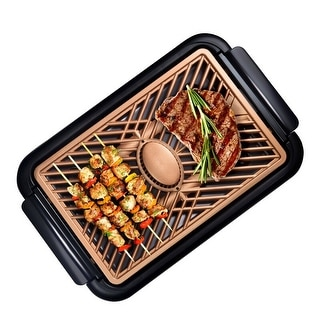 Link to Gotham Steel Non Stick Smokeless Grill w Fan Similar Items in Kitchen Appliances