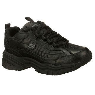 Skechers 76759 BLK Men's SOFT STRIDE-GALLEY Work