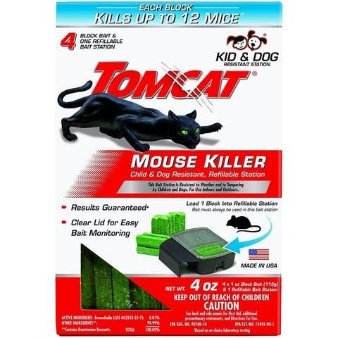 Tomcat 0371710 Refillable Mouse Bait Station